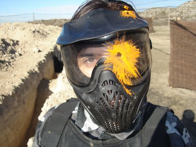 Maske Paintball