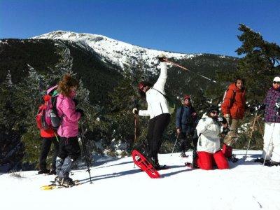 Medium Level Course Snow Rackets Navafría