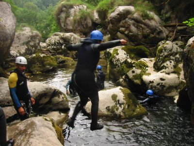 Canyoning in Asturias - different levels