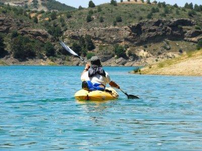 4h Canoeing in Navas de Estena Reservoir