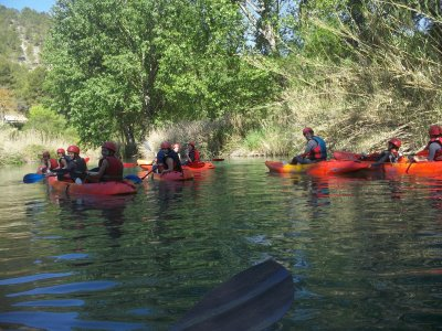 2 h canoeing in the Júcar valley