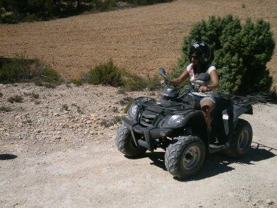 1h 30min quad tour in Valle del Júcar, Albacete
