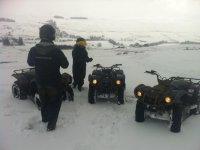 Snowing Quads day