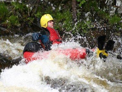 Scottish Quads White Water Rafting