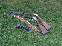 Shotguns and clays