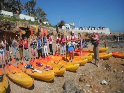 Kayaking tour in Montgó Nature Reserve