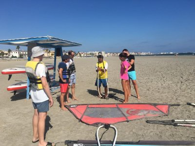 Windsurfing course, Arenales del Sol, 3 hours