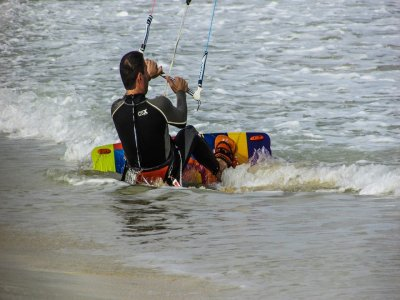 Pack 2 courses of kitesurfing, Arenales del Sol