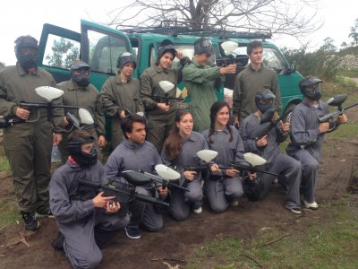 2h Paintball Game, 100 Balls, in Celorio