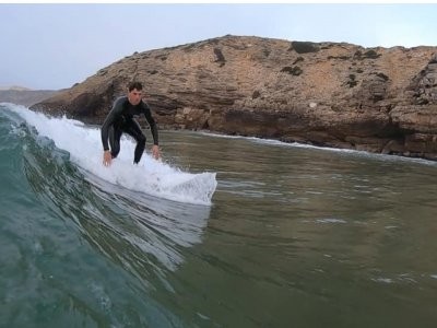 Surfing lessons in Amble for 1h:45