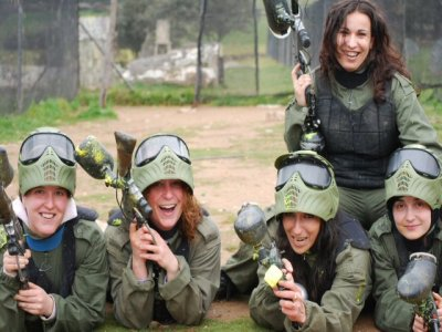 Stag/hen party paintball + BBQ Salamanca