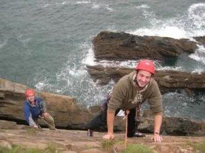Climbing Cornwall Abseiling