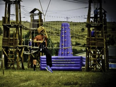 Inflatable climbing wall + instructor 3h Salamanca