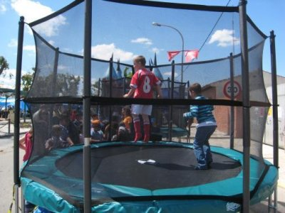 Trampoline rental without instructor