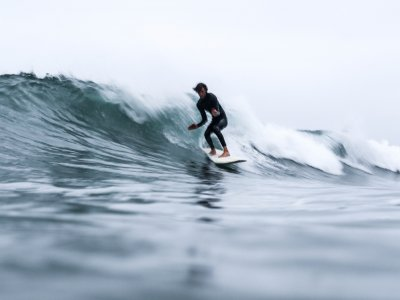 Individual Surfing Lessons in Amble for One hour