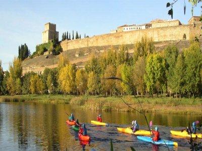 Kayak descent, Salamanca, 3 hours