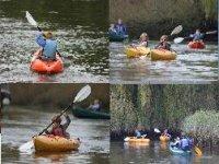 Kayak down the river.