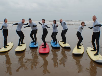 Beginer Surf Lesson