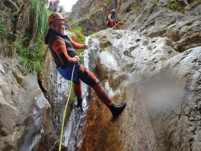 Canyoning in the Canyon of Almanchares