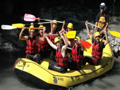 Scouts Rafting