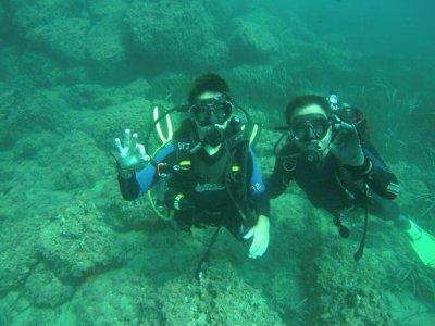 Diving PADI Open Water Diver Course, Jávea