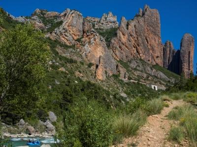 Rafting down river Gállego (Huesca) - Level II