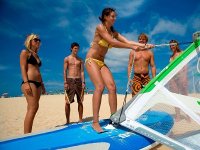 Flag Beach Windsurf
