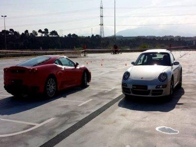 Drive Ferrari F430 & Porsche 911, Barcelona