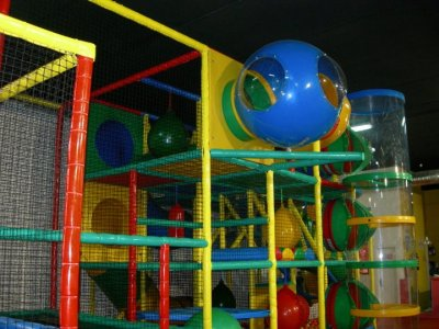 Birthday Children Playground + Burger Menu, Madrid