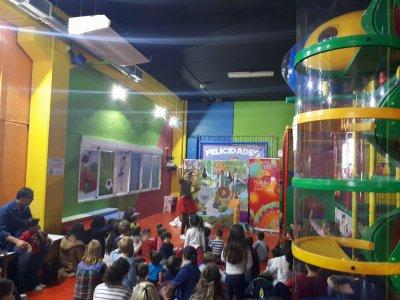Birthday Party in Playground + Sandwich