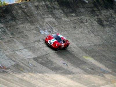 1 Ferrari 246 GT lap at the circuit of Barberà