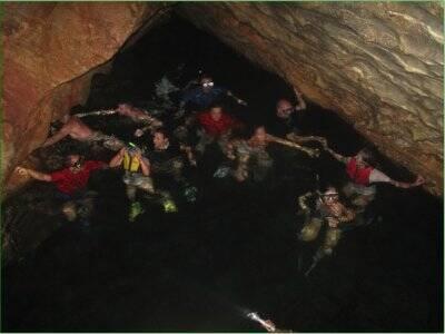 Kayak excursion 4 hours to Cueva del Gigante