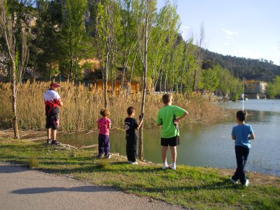 Initiation to sport fishing for children