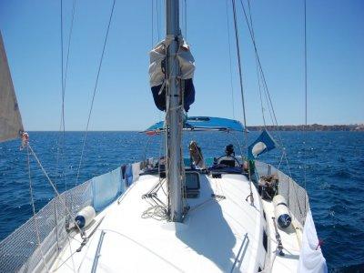 1 week boat renting. Off-season