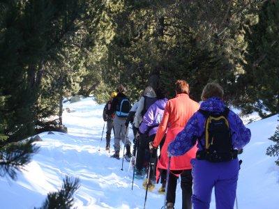 Escola de Muntanya El Pont de Suert Raquetas de Nieve