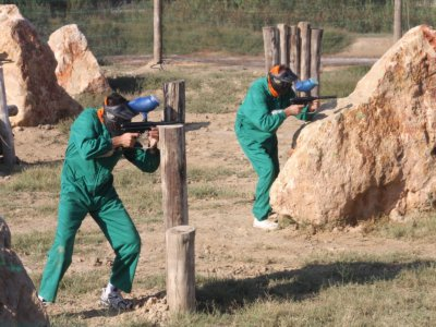 Paintball With 200 Balls, Delebre