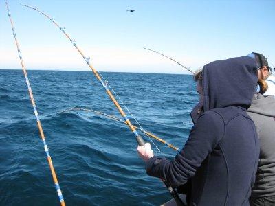 Coastal fishing class + equipment purchase