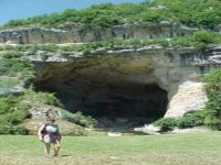 Maz de Zile, the road goes thru' this show cave