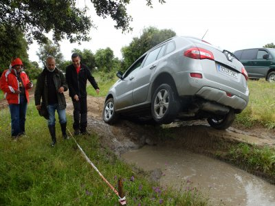 4x4 driving course + route in Segurillla