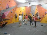 Having fun climbing!