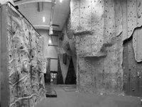 Fun climbing wall.