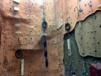 A great climbing wall.