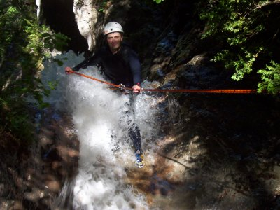 Canyoning initiation in Barcelona