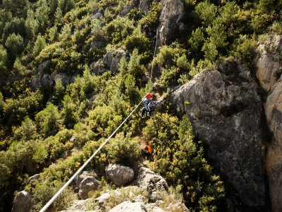 Via ferrata in Alcora, Rock of Moli, 4h