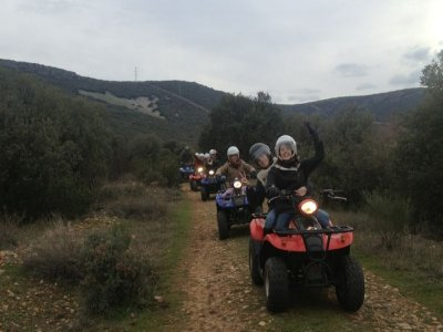 Quad Tour in Toledo Mountain Range