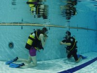 Learning to scuba dive with JC Scuba