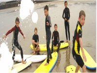 Surfing is Fun Time for Kids
