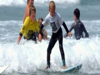 Even These Little Kids are Learning Surfing