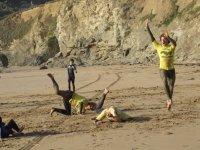 Fun loving surf instructors
