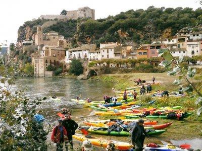 Kayak Route Through Miravet & Benifallet Adults